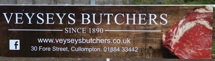 Veysey's Butchers. Cullompton.