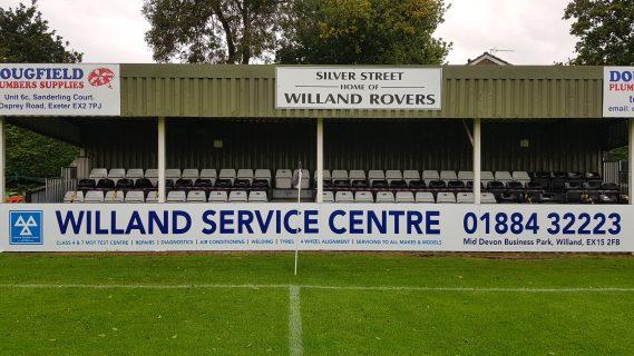 WRFC Stand