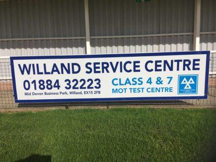 WILLAND SERVICE CENTRE