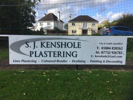 S. J. KENSHOLE PLASTERING
